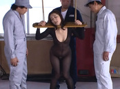 Harsh anal threesome with steamy Marina Matsumoto