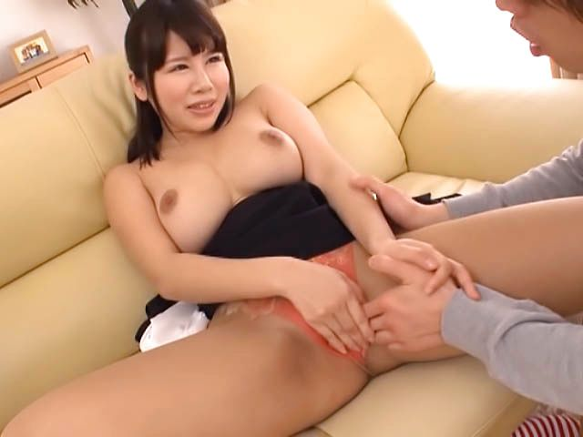 Busty asian teacher moans in steamy fuck