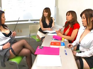 Japanese AV model is in some hot group action