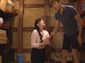 Hot mature Kaori Sakuragi enjoys younger dick in her mouth