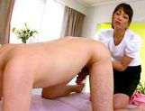 Insolent Japanese milf gives amazing massagejapanese pussy, asian ass, japanese porn}