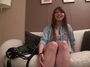 Playful redhead teen Yuki Morinaga is nailed by amateur