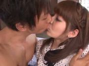 Rina Ishiara pretty Asian teen gets a hard pussy pounding by her date