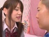 Young Rina Osawa likes having her pussy stretched picture 11