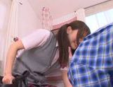Young Rina Osawa likes having her pussy stretched picture 4