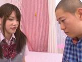 Young Rina Osawa likes having her pussy stretched picture 6