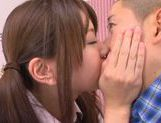 Young Rina Osawa likes having her pussy stretched picture 9