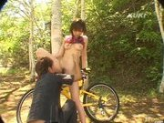 Yua Aida Asian doll gets a fucking when out on a walk