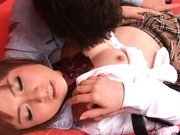 Kokomi Naruse is a beautiful Asian doll who enjoys a fucking