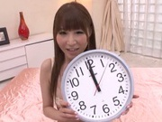 Impressive model Rei Aimi damaged by a horny guy