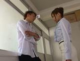 Deepthroat oral along naughty Kokone Mizutani