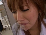 Deepthroat oral along naughty Kokone Mizutaniyoung asian, cute asian}