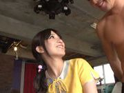 Nice Asian teen Rui Narumiya enjoys a good fucking