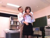 Reona Kanzaki Asian student gets fucked after school picture 2