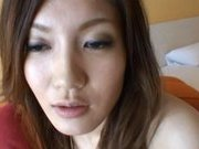 Japanese AV models pretty Asian girls enjoy fucking with a friend