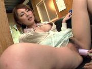 Cute Japanese hottie Tsubasa Amami enjoys dildo insertionhot asian girls, young asian, asian anal}