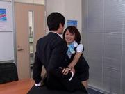 Sweet and horny Yuuki Natsume gives awesome blowjob