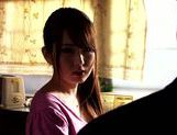 Arousing hottie Yui Hatano enjoys older guy