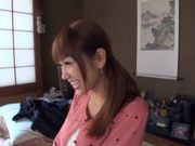 Playful milf Aozora Yamakawa sits on the face of her lover