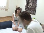 Lovely chick Mei Mizuhara small tits and dick riding too