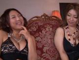 Hot mature Naho Hazuki and Yuri Honma dick riding action picture 2