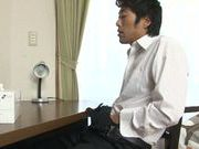 Hot pigtailed Japanese cutie Ramu Hoshino gets her tits licked