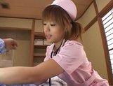 Hitomi Hayasaka Pretty Asian chick gets hot facial