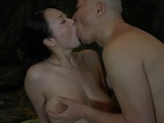 Japanese hottie with big breasts Yuu Shinoda has sex in a poolasian pussy, horny asian}