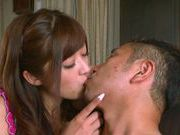 Satou Haruka sexy Asian babe gets fucked by a horny guy