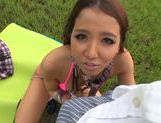 Outdoor hardcore action with Ayaka Tomoda picture 14