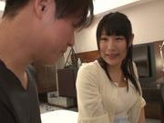 Chigusa Hara likes to be nasty with hard cock