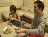 Sweet Japanese milf Yuuki Natsume gives head and swallows