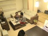 Sweet Japanese milf Yuuki Natsume gives head and swallows picture 15