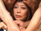 Miho Maeshima Horny Asian doll is sexy in her black stockings