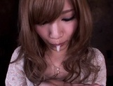 Cock sucking Erika Shibasaki enjoying a warm loadjapanese pussy, japanese porn}