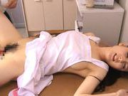Cute milf Kaori Saejima toy inserting pleasurejapanese sex, japanese pussy}
