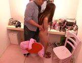 Ayaka Tomoda is a horny model, who loves pussy licking picture 9