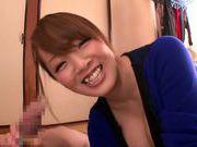 Busty Asian Hitomi Tanaka enjoys a long one