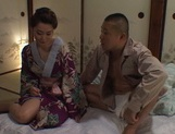 Alluring Asian housewife enjoys pussy licking and bounces on cock