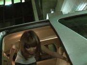 Skinny japanese Minami Oshiro gets hard drilled