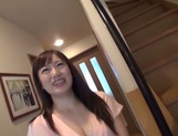 Luscious Japanese AV model gets her pussy poked and pounded picture 11