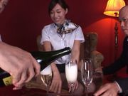 Sexy japanese Miki Horiuhi gets nailed in threesome