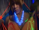 Risa Tsukino Naughty Asian chick tied and lubed picture 12