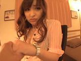 Yukiki Sou in a pov hot fingering session picture 5