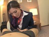 Yuna Shiina is a cock sucking stewardess picture 11