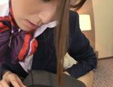 Yuna Shiina is a cock sucking stewardess picture 14