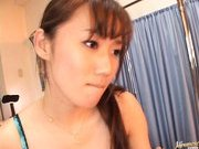 Reona Kanzaki Asian beauty is fucked in the hospital