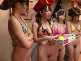 Doggy-style group action with Asian milf Uta Kohaku picture 15