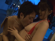 Doggy-style group action with Asian milf Uta Kohakuhot asian pussy, japanese sex}
