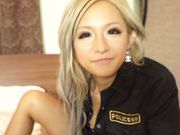 Blonde Asian Julia Tachibana gets hard fucked